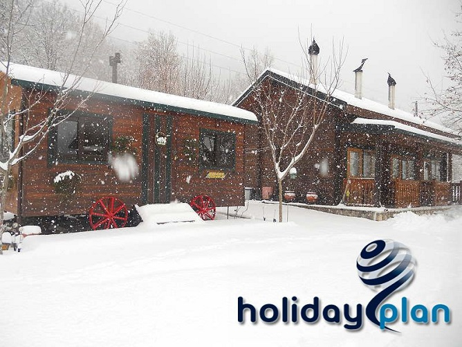 winter in greece